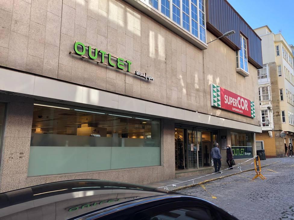 Nueva imagen exterior para el outlet de El Corte Inglés en la calle María