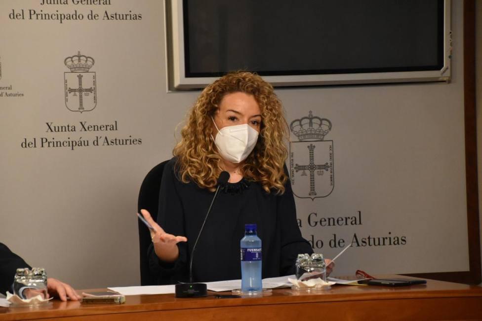 Teresa Mallada, presidenta del PP