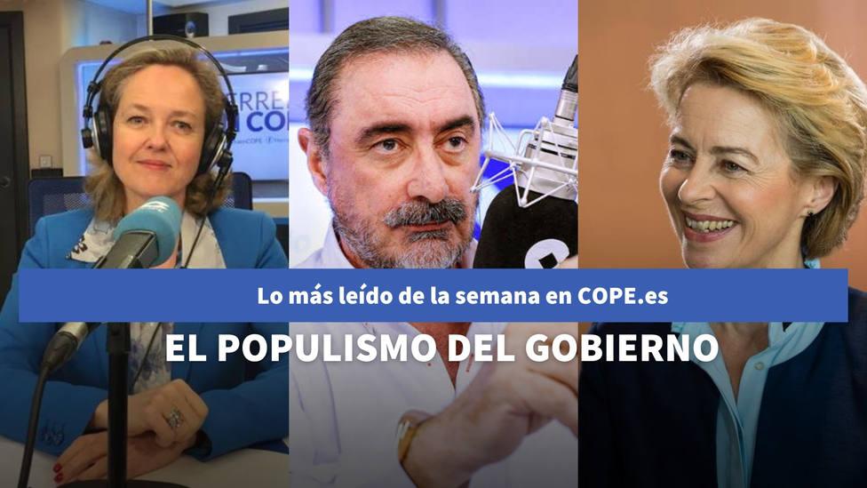 El reproche de Herrera al populismo del Gobierno de coalición, entre lo más leído de la semana