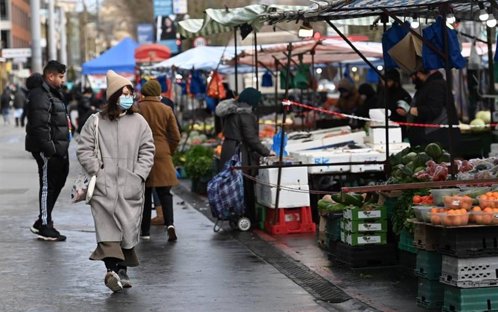 Mercado en el centro de Londres