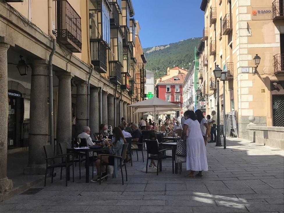 Terraza de San Lorenzo de El Escorial