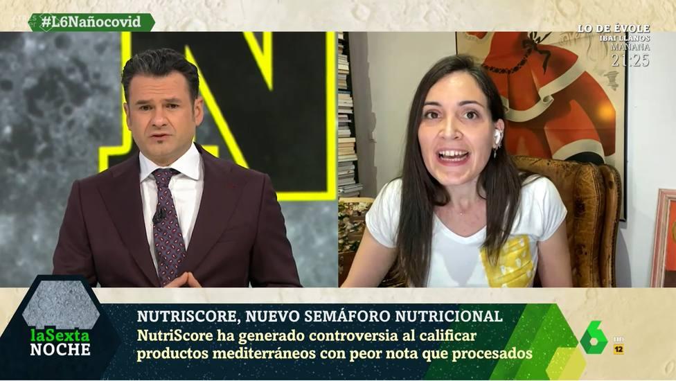 Boticaria García corta en directo a Iñaki López en La Sexta Noche: Has dicho lo contrario de lo que he dicho