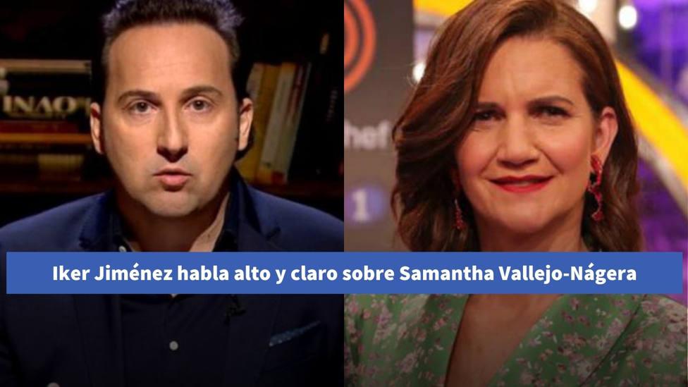 Iker Jiménez habla alto y claro sobre la última polémica de Samantha Vallejo-Nágera