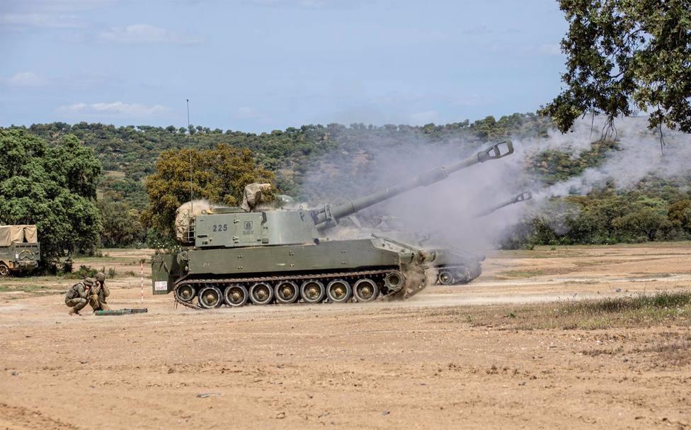 La BRI X realiza el ejercicio Cobre I/21 en el Campo de Maniobras y Tiro de Cerro Muriano