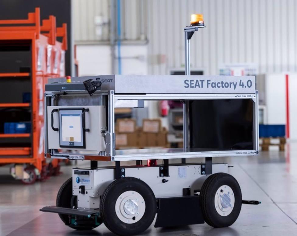 Motor.- La planta de Seat en Martorell (Barcelona) incorpora robots móviles autónomos