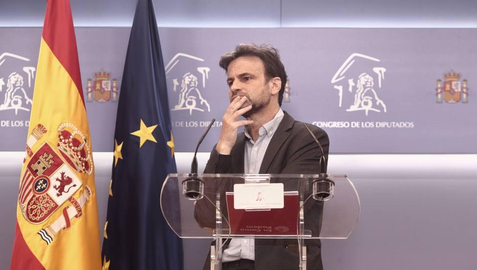 Unidas Podemos escenifica el cambio de etapa en el Congreso tras la marcha de Iglesias