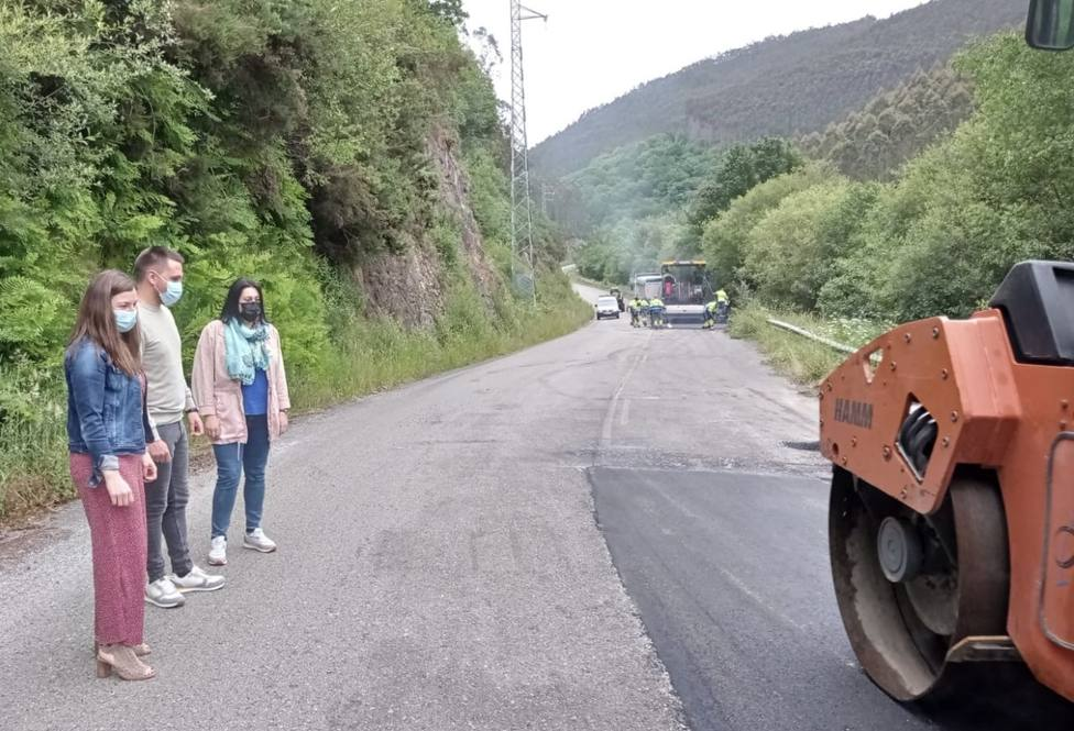 Renovación del vial de Trabada a San Tirso de Abres