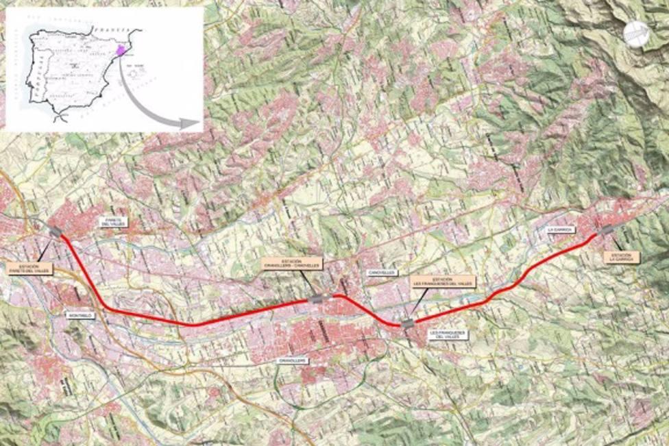Adif licita las obras de mejora de la R3 entre Parets del VallÃ?s y La Garriga (Barcelona).