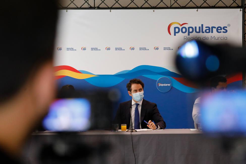 Egea asegura que la legislatura de Sánchez tiene punto y final