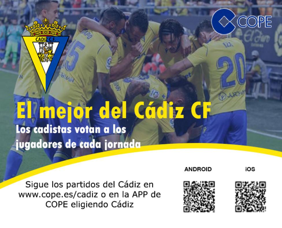El mejor del Cádiz en COPE
