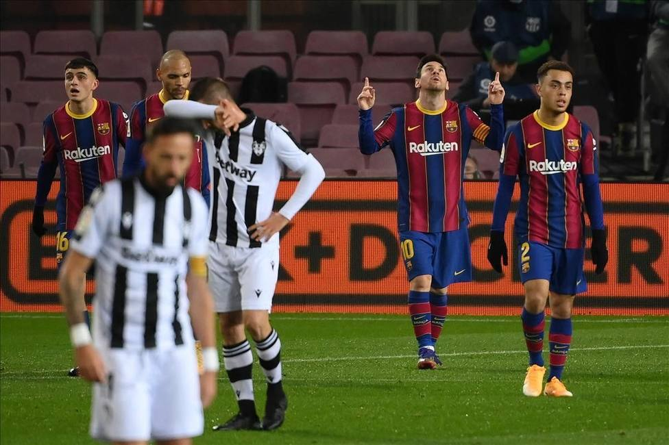 El Levante UD ha perdido todas las veces que ha visitado el Camp Nou