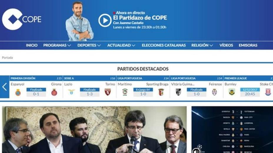 COPE.es también se crece en internet: mejor mes histórico en febrero
