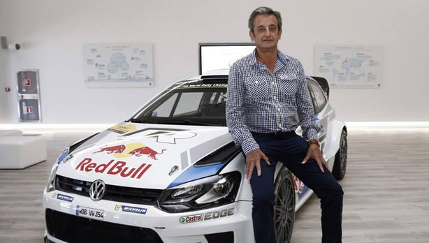 El excopiloto de rallys Luis Moya