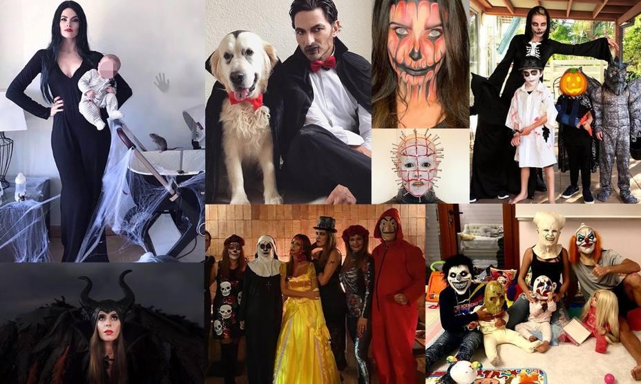 Así han celebrado Halloween las celebs