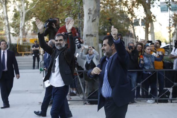 Jordi Cuixart afirma que 17 años de cárcel no le harán renunciar a sus objetivos