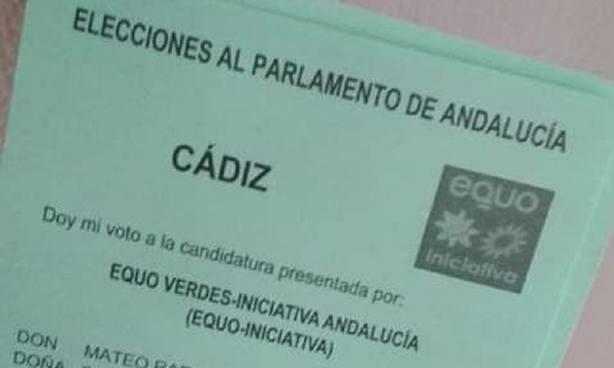 El colegio de la Algaida de Sanlúcar cerrará sobre las 21,30 horas por retraso al recibir papeletas de Equo