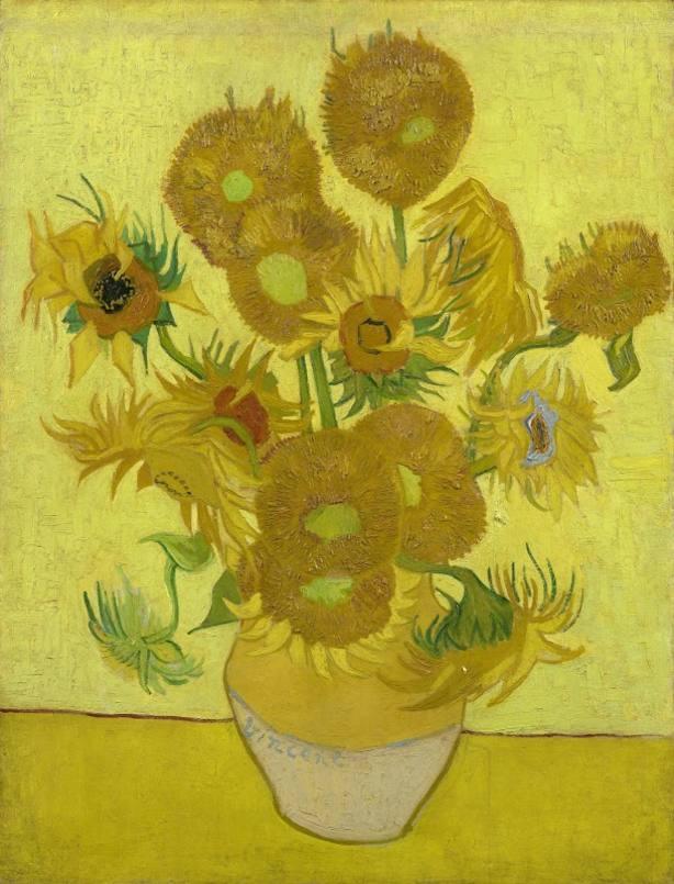 Los girasoles, de Van Gogh, serán restaurados durante las próximas seis semanas