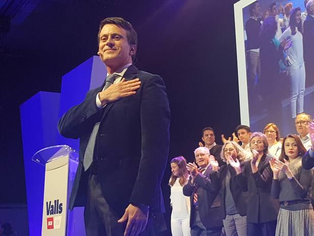 Valls asegura que Cs impedirá que Vox contamine Andalucía con propuestas reaccionarias