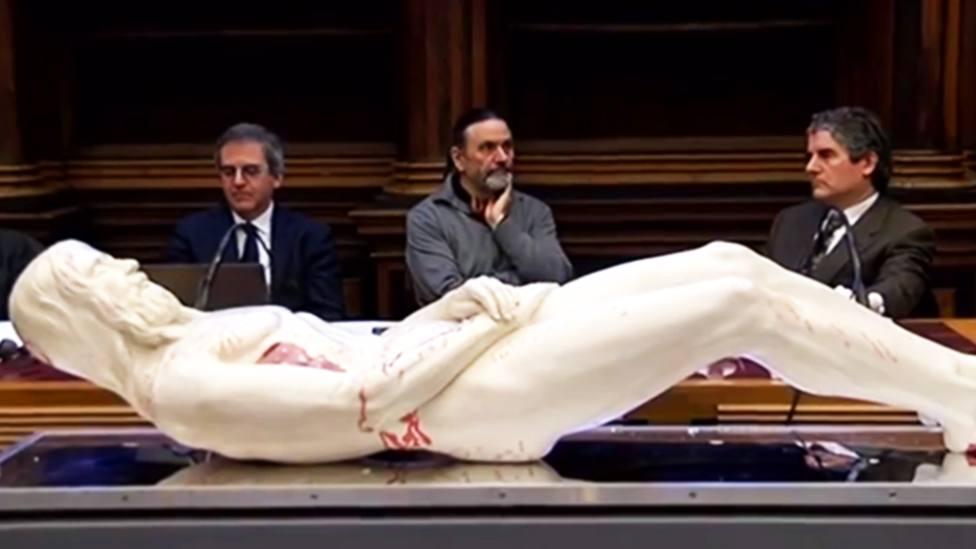 Así es la realista escultura de Jesús en 3D creada a partir de la Sábana Santa