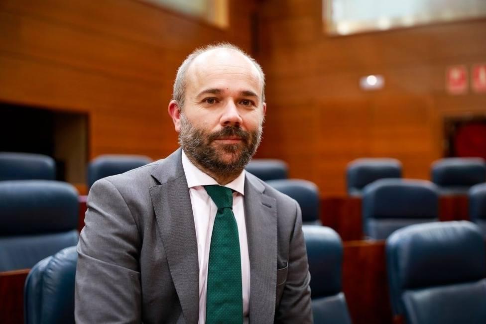 Juan Trinidad de Cs, nuevo presidente de la Asamblea de Madrid
