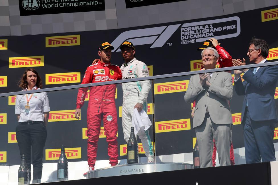 Ferrari solicita la revisión de la decisión que dejó a Vettel sin victoria en Gran Premio de Canadá