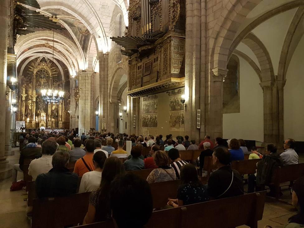 Primeiro concerto do Festival MindoMúsica na catedral de Mondoñedo