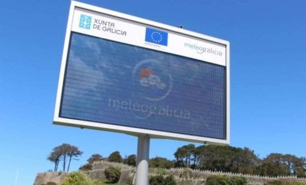 La Xunta instala estaciones meteorológicas y pantallas de información en 11 municipios de Lugo