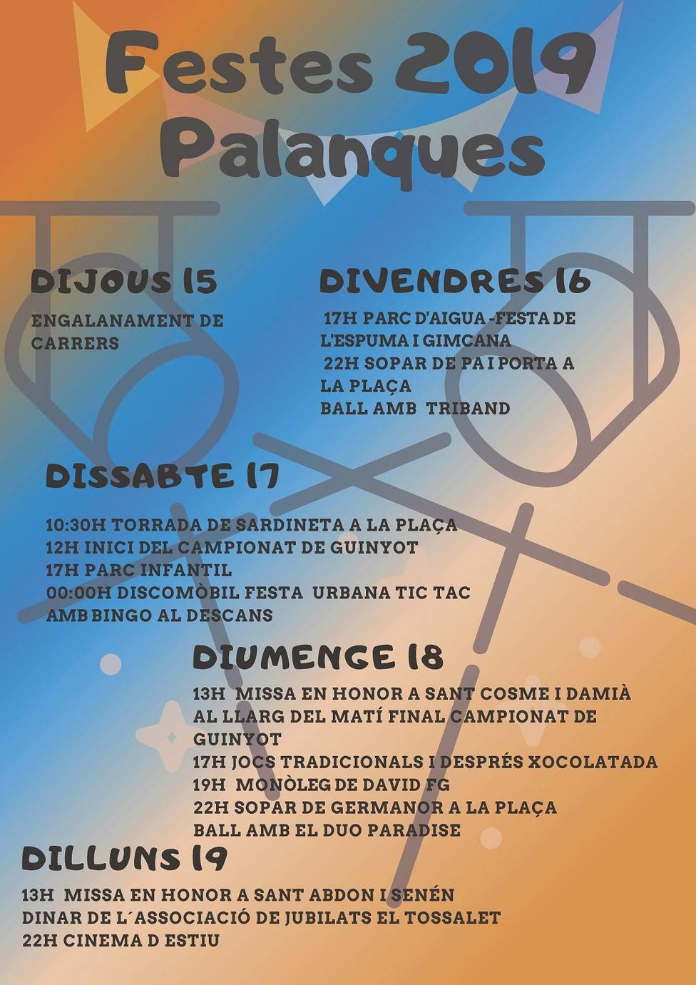 Fiestas Palanques