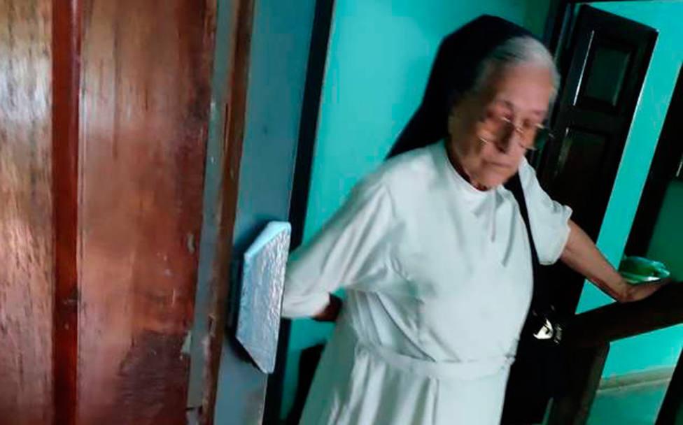 Sor Enedina, la monja de 86 años que ha sido expulsada de la India por motivos religiosos