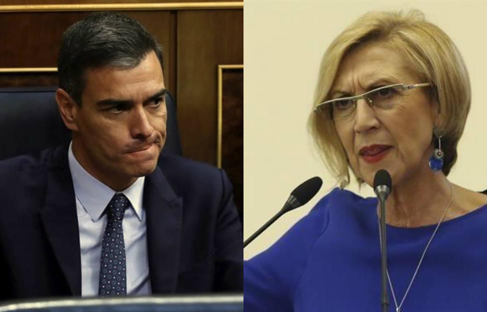 El último adjetivo con el que Rosa Díez carga contra Pedro Sánchez y su última medida feminista