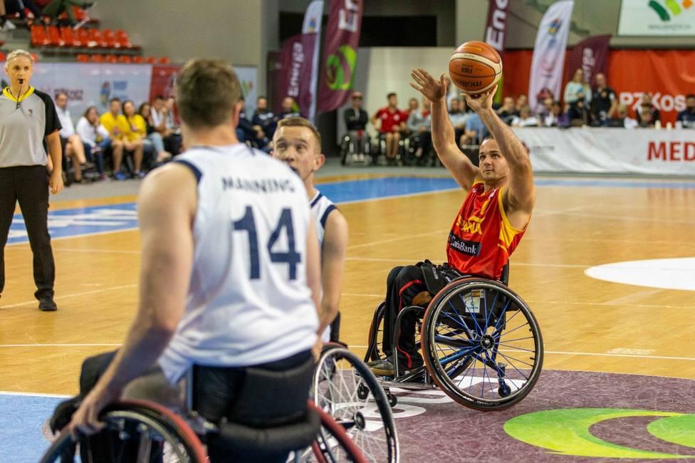 España se cuelga la plata en el Europeo masculino de baloncesto en silla de ruedas
