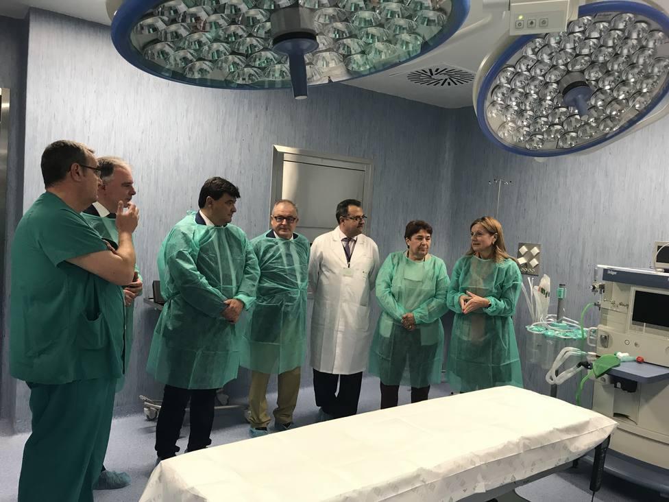 Quirófanos Hospital Infanta Helena