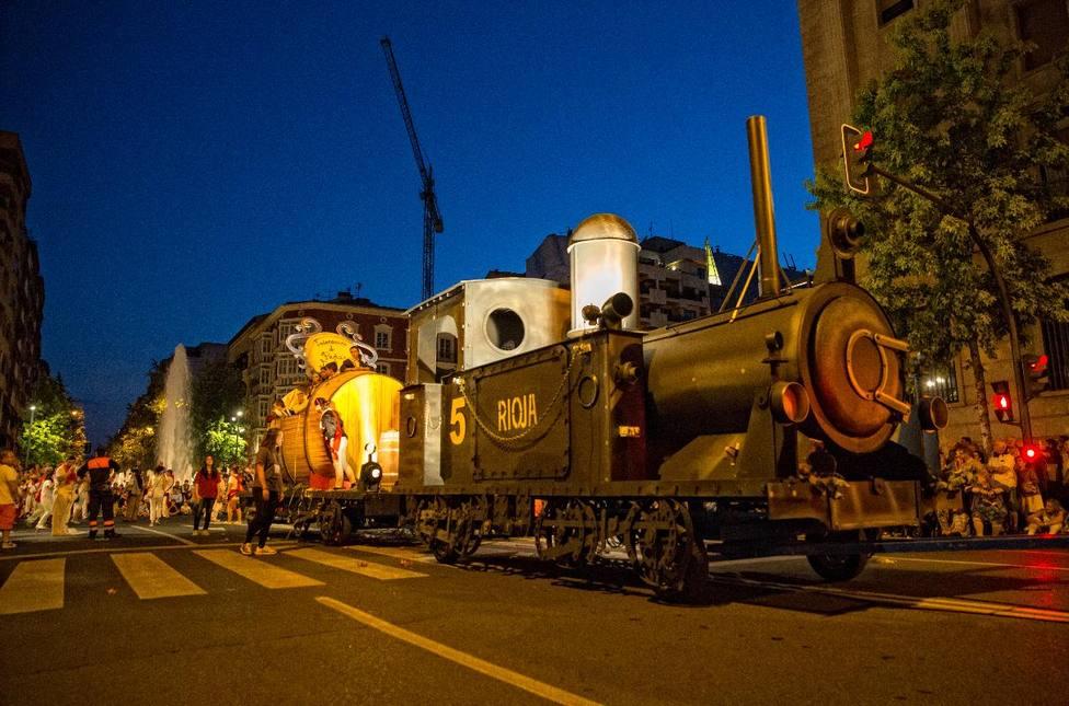 Siete carrozas participarán este domingo en el desfile de las fiestas de San Mateo