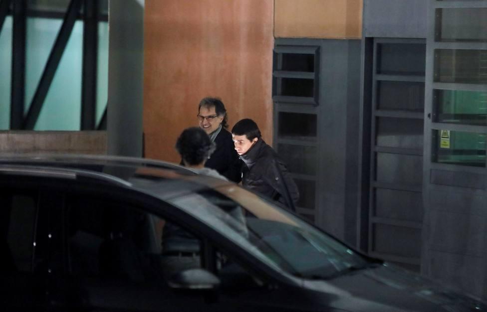 Jordi Cuixart sale de prisión para cumplir su primer permiso de 48 horas