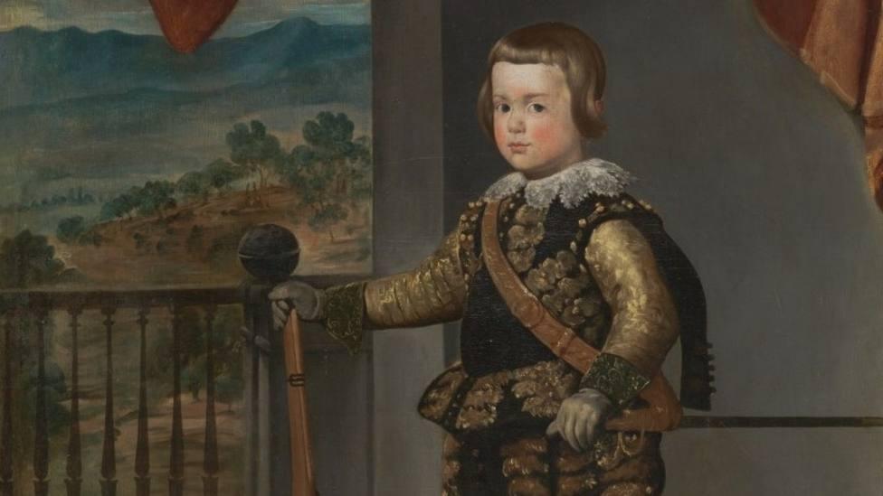 El príncipe Baltasar Carlos de Velázquez, al Bellas Artes de Asturias