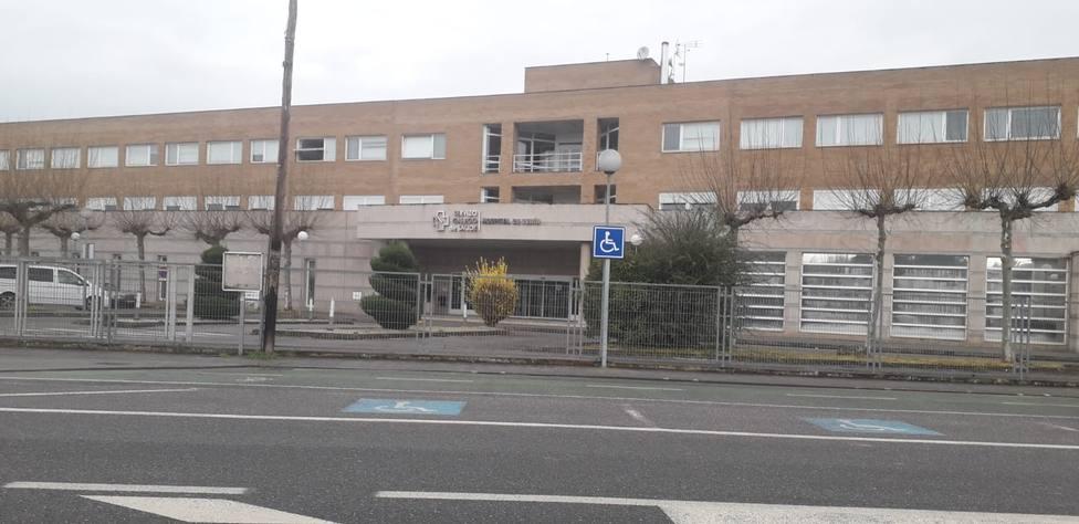 Hospital de Verin, donde mañana está previsto el homenaje a médicos y demás personal sanitario