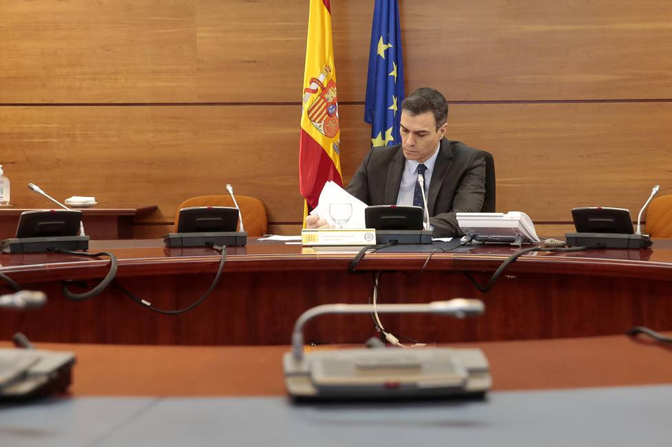 Sánchez defiende su gestión: No ha habido una sola hora que el Gobierno haya dejado de actuar