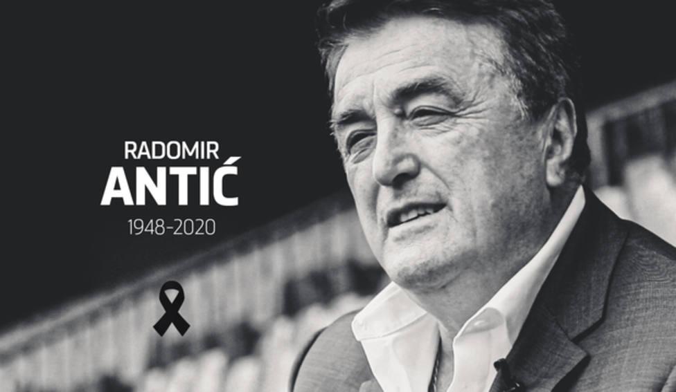 Fallece Radomir Antic a los 71 años de edad