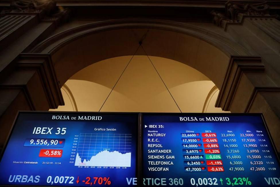 La Bolsa cierra prácticamente en tablas en una sesión sin pena ni gloria
