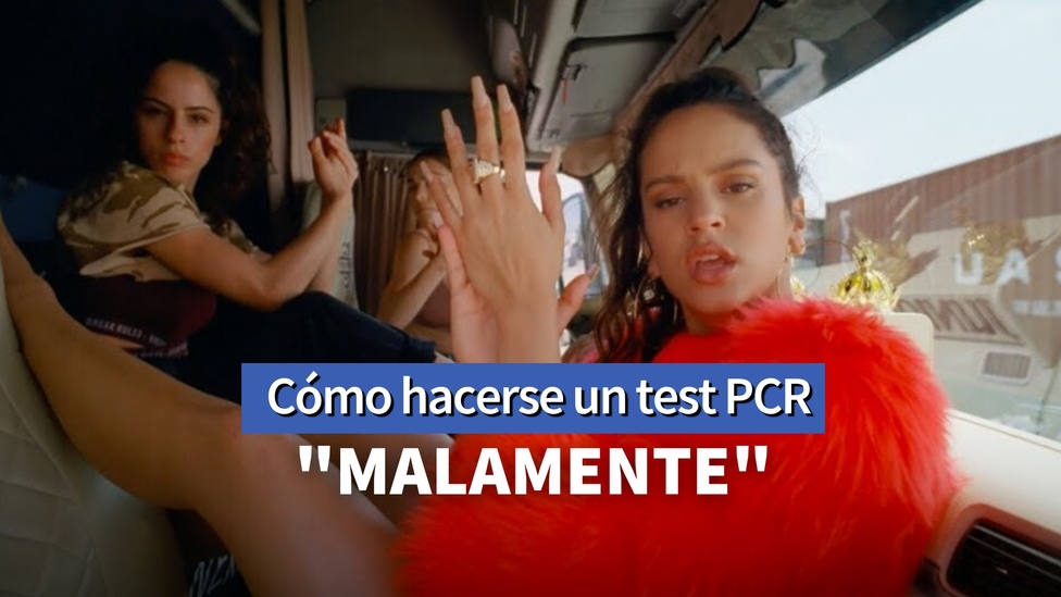 Rosalía la lía al hacerse un test PCR y un famoso enfermero le pone los pies en la tierra: Debería repetirla