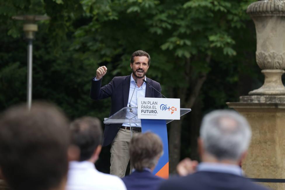 Cierre de campaña de PP+CS en Vitoria