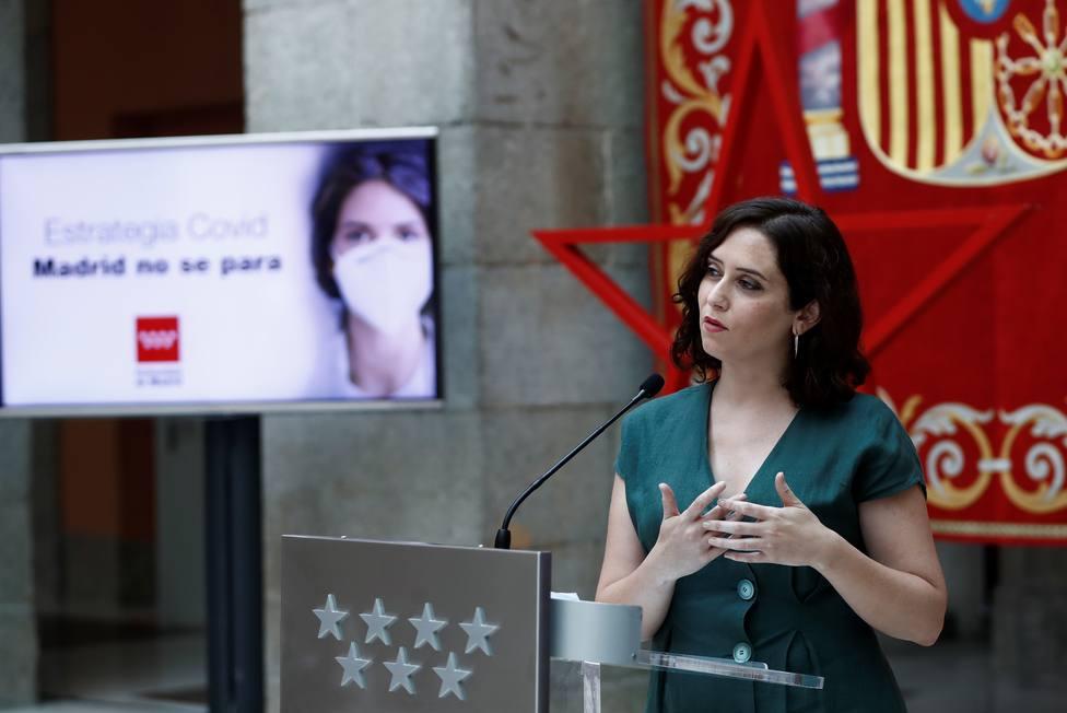 Díaz Ayuso: No entiendo de terruños, no hay comunidades radiactivas