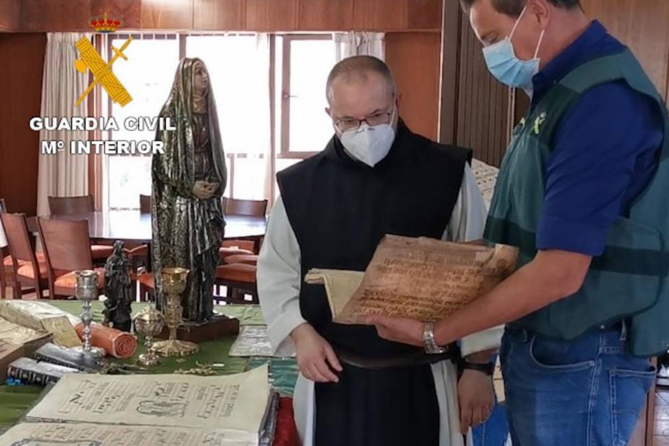 Detenido en Palencia por robo de 94 objetos en lugares de culto de Palencia, Burgos, Teruel y La Rioja
