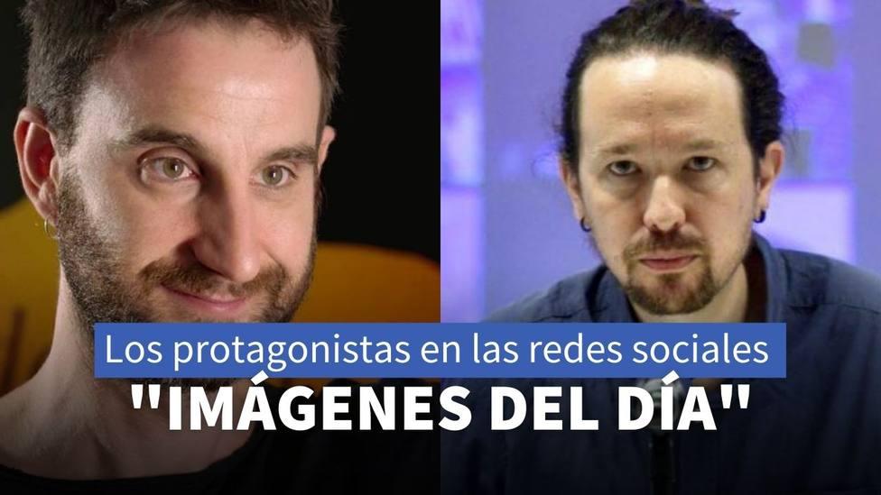 Dani Rovira y Pablo Iglesias
