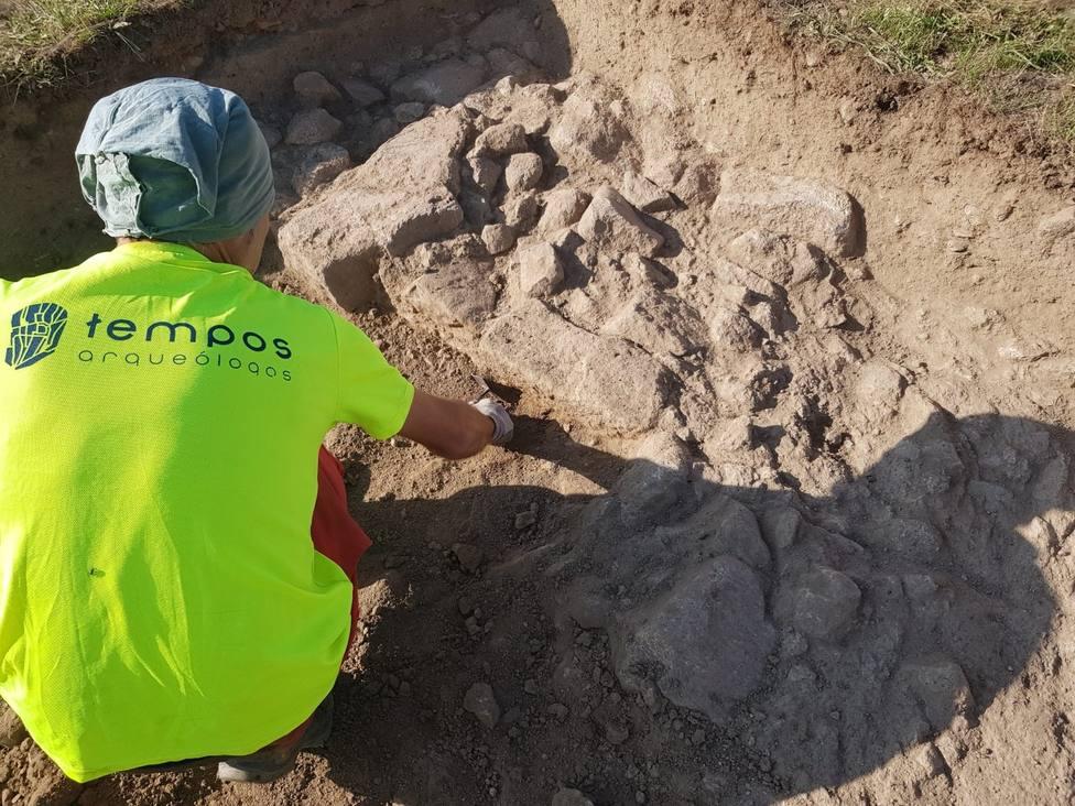 Localizan los primeros restos en la intervención arqueológica de Proendos
