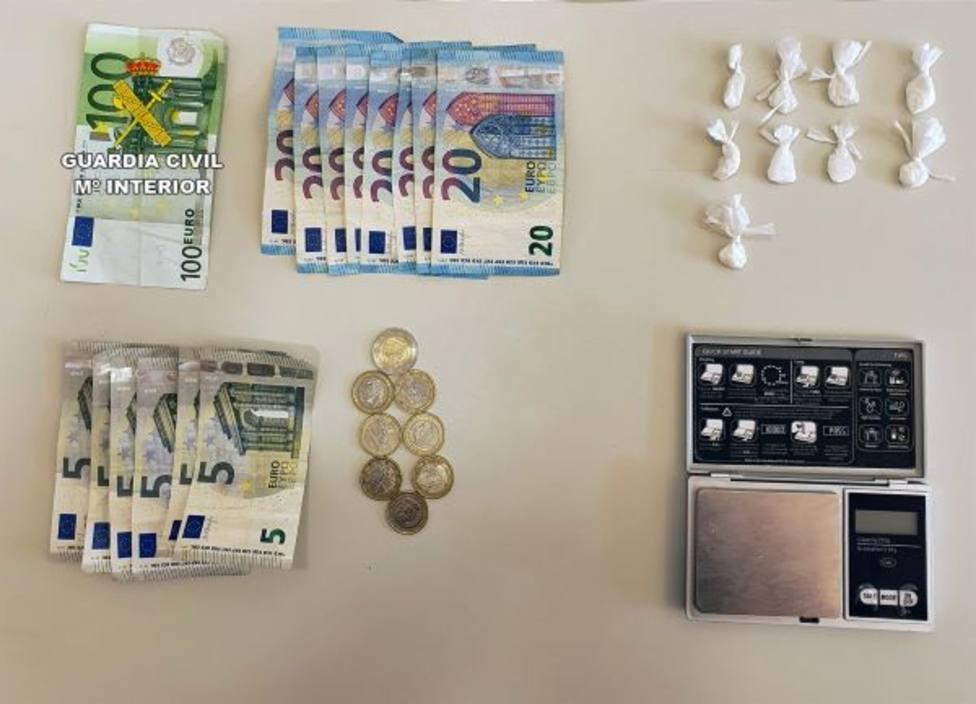 Detenido un vecino de Villanueva del Río Segura cuando vendía cocaína a un supuesto cliente