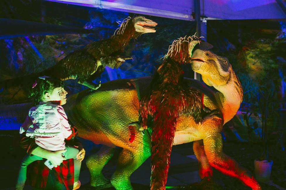 Dinosaurs Tour, la mayor exposición de dinosaurios animatrónicos, ha llegado a Almería