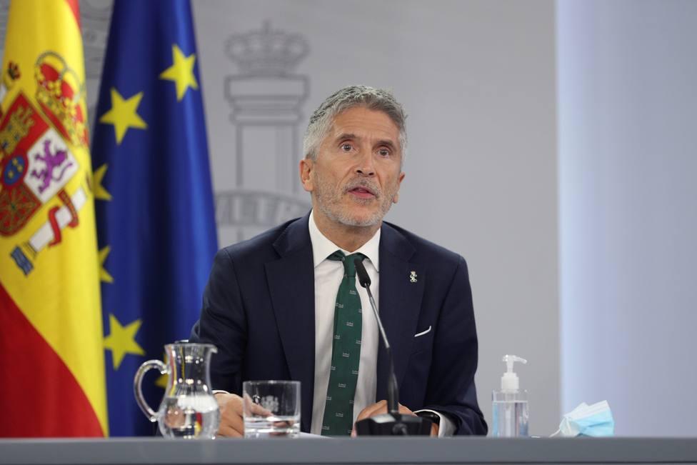 Grande-Marlaska dice que lo que pone en riesgo la independencia del poder judicial es el bloqueo de su renova