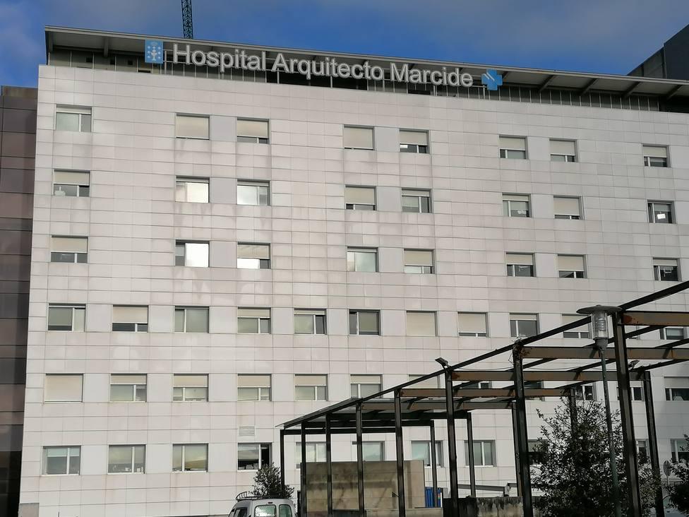 Foto de archivo del Hospital Arquitecto Marcide de Ferrol