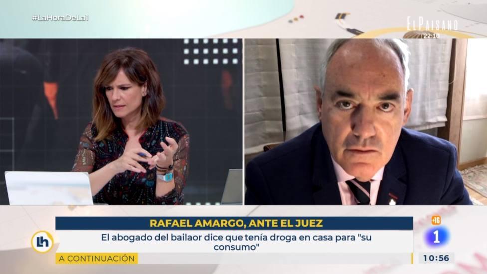 El doctor José Cabrera pone precio en TVE al alijo de droga de Rafael Amargo: Un pastón